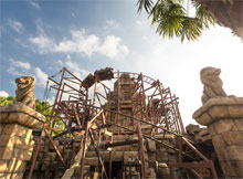 Indiana Jones and The Temple of Peril – Adventurland®