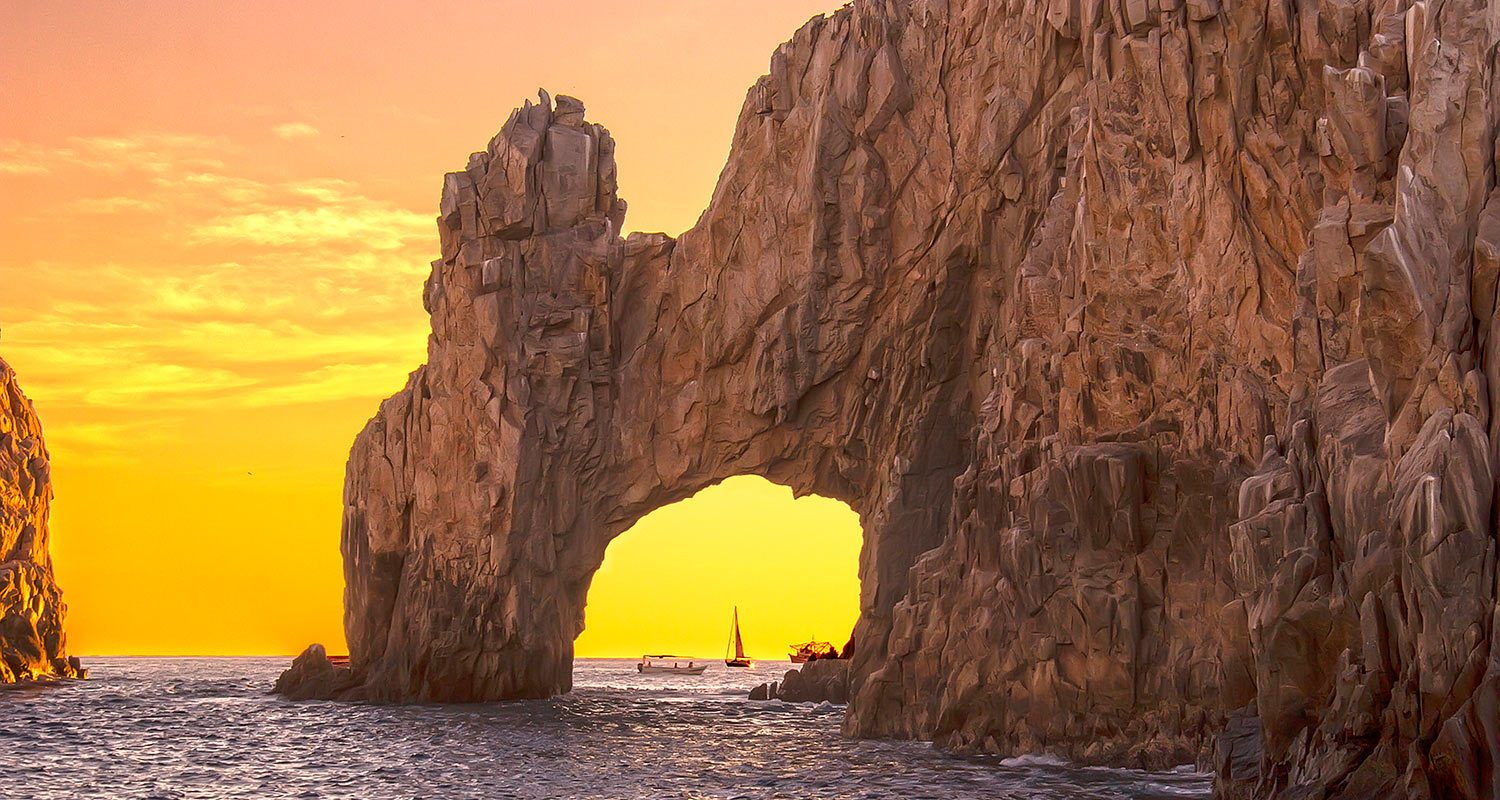 Los Cabos, por do sol